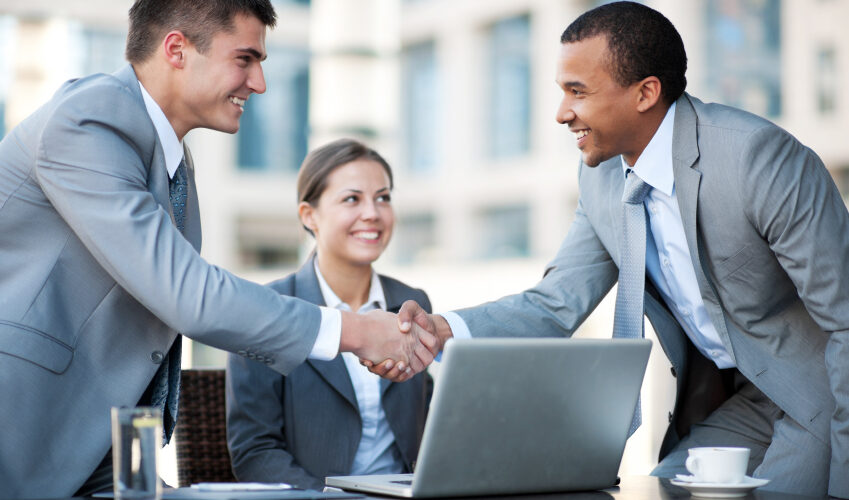 Two businessmen are shaking hands at the meeting.  [url=http://www.istockphoto.com/search/lightbox/9786622][img]http://img543.imageshack.us/img543/9562/business.jpg[/img][/url]  [url=http://www.istockphoto.com/search/lightbox/9786738][img]http://img830.imageshack.us/img830/1561/groupsk.jpg[/img][/url]